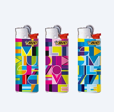 BIC® J25 MINI DECORADO